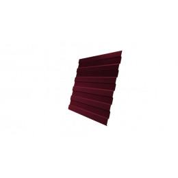 Профнастил С8А Дачный PE RAL 3005 красное вино 2м