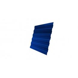 Профнастил С8А Дачный PE RAL 5005 сигнальный синий 2м