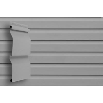 Сайдинг Grand Line (slim) 3,0 виниловый D4 серый