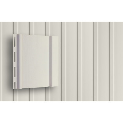 Вертикальный сайдинг 3,0 Grand Line S6,3 белый