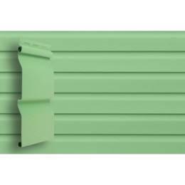 Сайдинг Grand Line (slim) 3,0 виниловый D4 салатовый