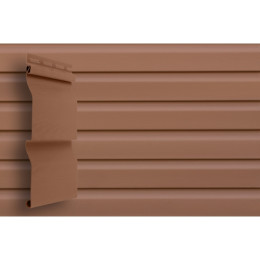 Сайдинг Grand Line (slim) 3,0 виниловый D4 темно-бежевый