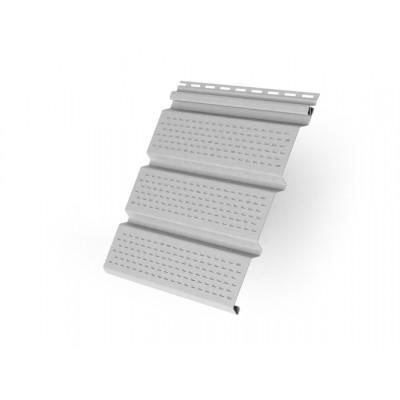 Софит T4 полностью перфорированный Grand Line виниловый 3,0 белый Grand Line