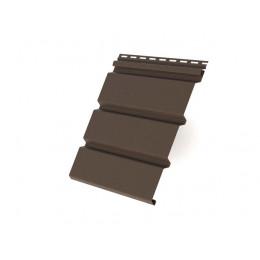 Софит T4 без перфорации Grand Line виниловый 3,0 коричневый