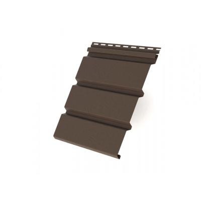 Софит T4 без перфорации Grand Line виниловый 3,0 коричневый Grand Line