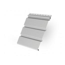 Софит T4 частично перфорированный Grand Line виниловый 3,0 белый