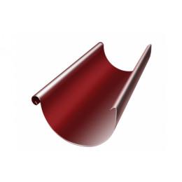 Желоб полукруглый 125 мм 3 м RAL 3011 коричнево-красный