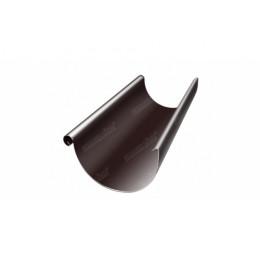Желоб полукруглый Optima 125мм 3м RAL 8017 шоколад