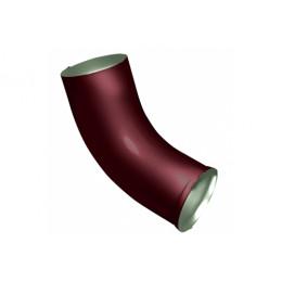 Колено стока Optima 90мм RAL 3005 красное вино
