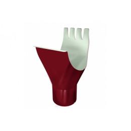 Воронка Optima 125/90мм RAL 3005 красное вино