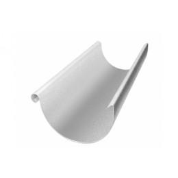 Желоб полукруглый 125 мм 3 м Al-Zn