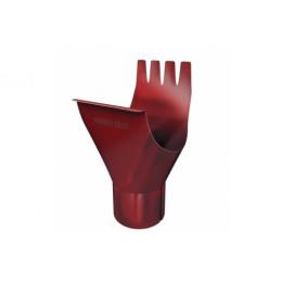 Воронка 125/90 мм RAL 3011 коричнево-красный