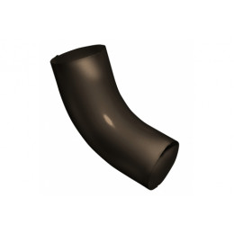 Колено 60 град 100 мм RR 32 темно-коричневый