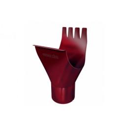 Воронка 125/90 мм RAL 3005 красное вино